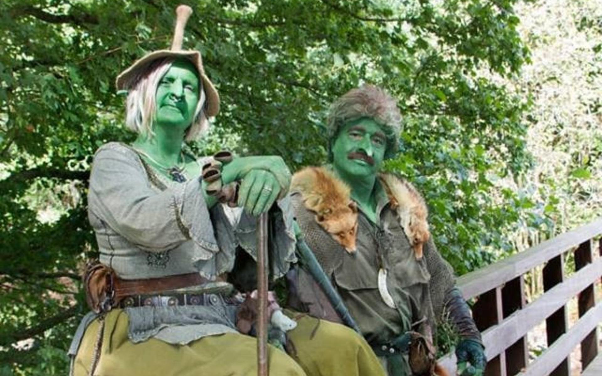 Rensenpark Omgetoverd In Wereld Vol Sprookjesfiguren Tijdens Fable En Fantasy Festival Hoogeveensche Courant