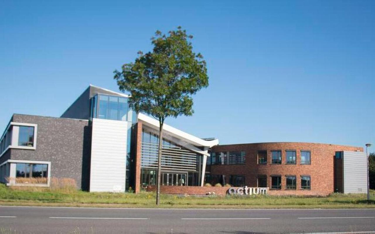 Het hoofdkantoor van Actium in Assen. Foto: Archief DVHN