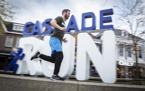 Robert Jan Thalen gaat rennen op Texel voor Kika. Meerdere keren heeft hij ook deelgenomen aan de Cascaderun.