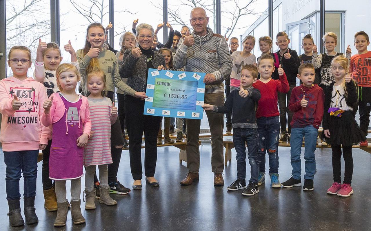 Wim en Diny Kramer ontvingen in januari een flink geldbedrag van Het Mozaïek in Hollandscheveld.