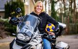 Naast korfbal is motorrijden een grote hobby van Jolein Ubels.