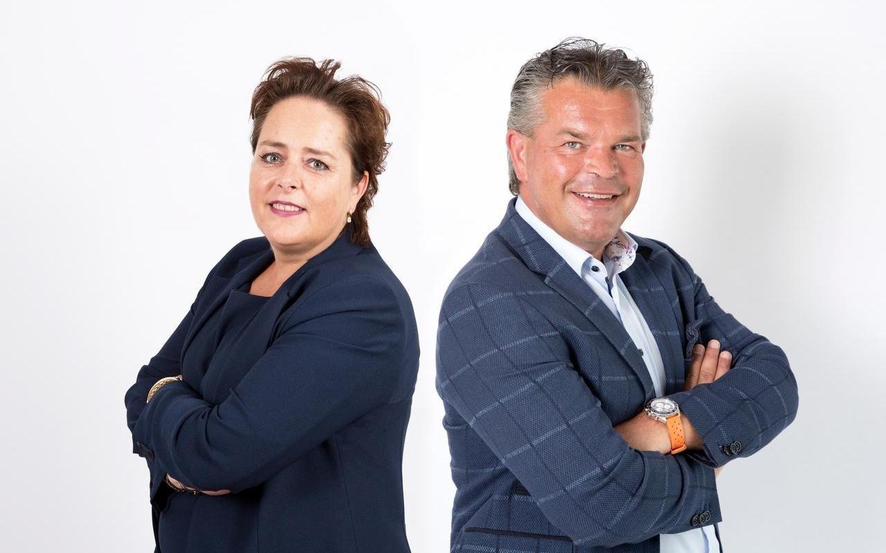 STiB-voorzitter Ewout Klok hier samen met Daphne van der Wilt, eveneens betrokken bij STiB.