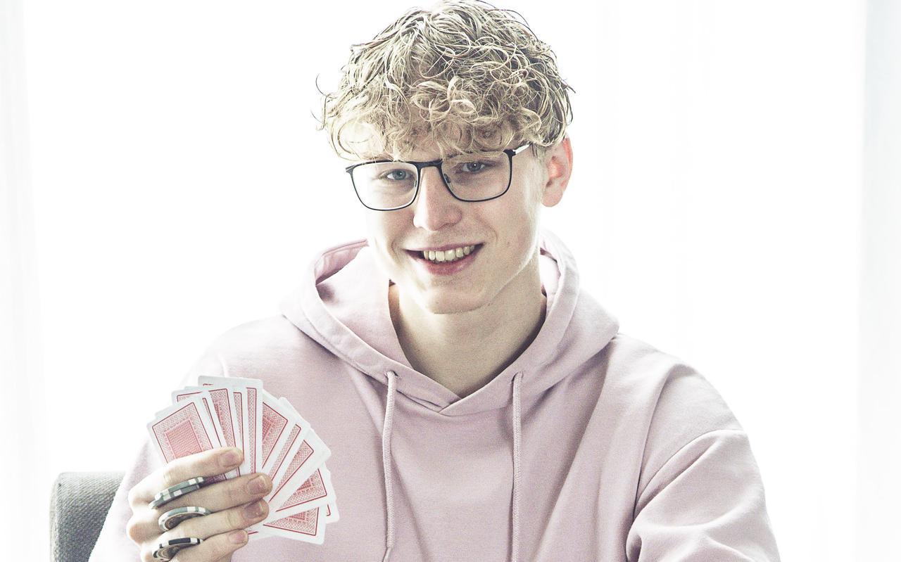 Pokeraar en dammer Nick Waterink.