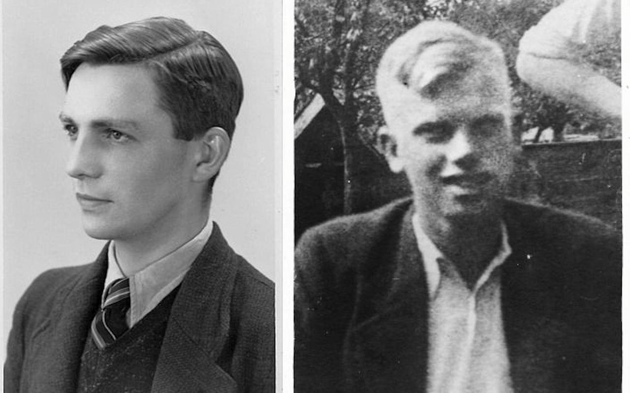 Evert Post (links) en Bastiaan Bos (rechts).