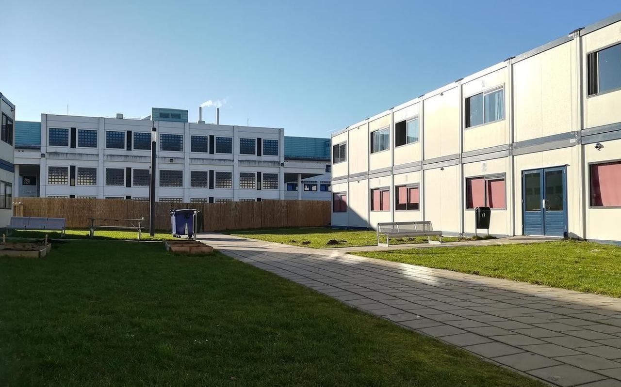 De HTL is in Hoogeveen gevestigd naast het reguliere azc.