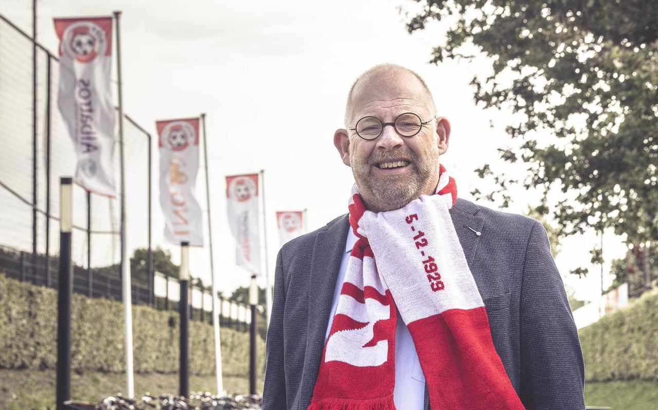 """Raadslid Erik Jan Kreuze is sinds 1979 actief betrokken bij HZVV. ,,Ik gebruik Cocksen als geuzennaam, dan heb je er zelf geen last van."""""""