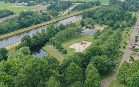 Luchtfoto Zuiderpark Hoogeveen