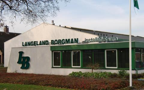 Het pand van Langeland-Borgman in Coevorden.