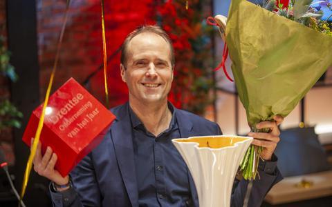 Winnaar Micha Medendorp van Miron Violetglass.